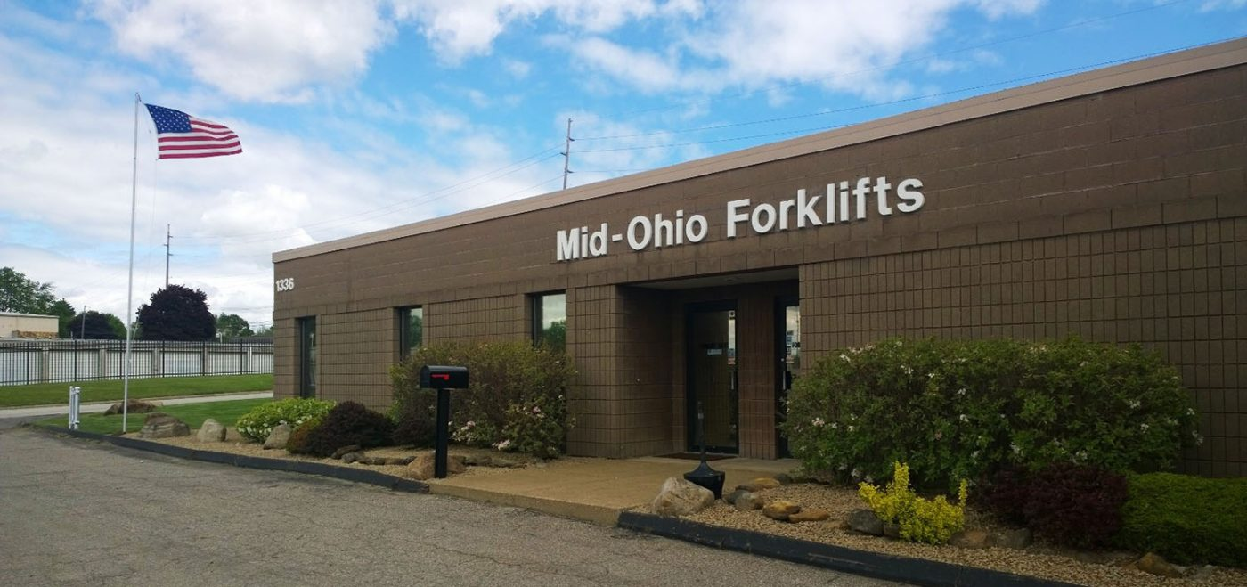Front Door of Mid-Ohio Forklifts
